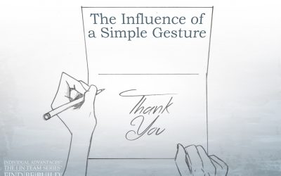 The Influence of a Simple Gesture